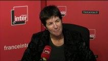 Christine Angot au micro de Léa Salamé