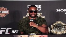 UFC 214: Tyron Woodley Post-Fight Press Conference - MMA Fighting