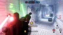 Star Wars Battlefront Beta Darth Vader VS Luke Skywalker! EPIC HERO FIGHT! (SWBF Funny Moments)
