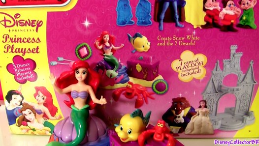 Play Doh Ariel The Little Mermaid ♡ Disney Princess With