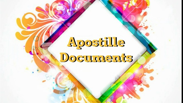 Image result for apostille documents
