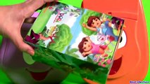 Dora Explorer Backpack Surprise Talking Diego Rescue Backpack Surprise Eggs Go,D