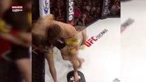 MMA : Au bord du KO, un combattant réalise un improbable comeback (Vidéo)