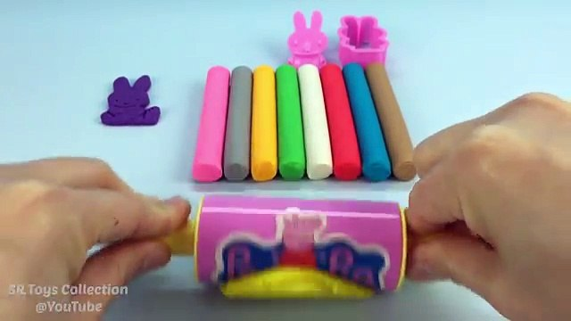 Play Doh Modelling Clay with Miffy Cookie Cutters