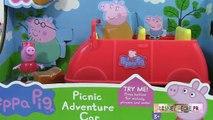 Peppa pig en français Voiture de Pique nique Picnic Adventure Car Jouets