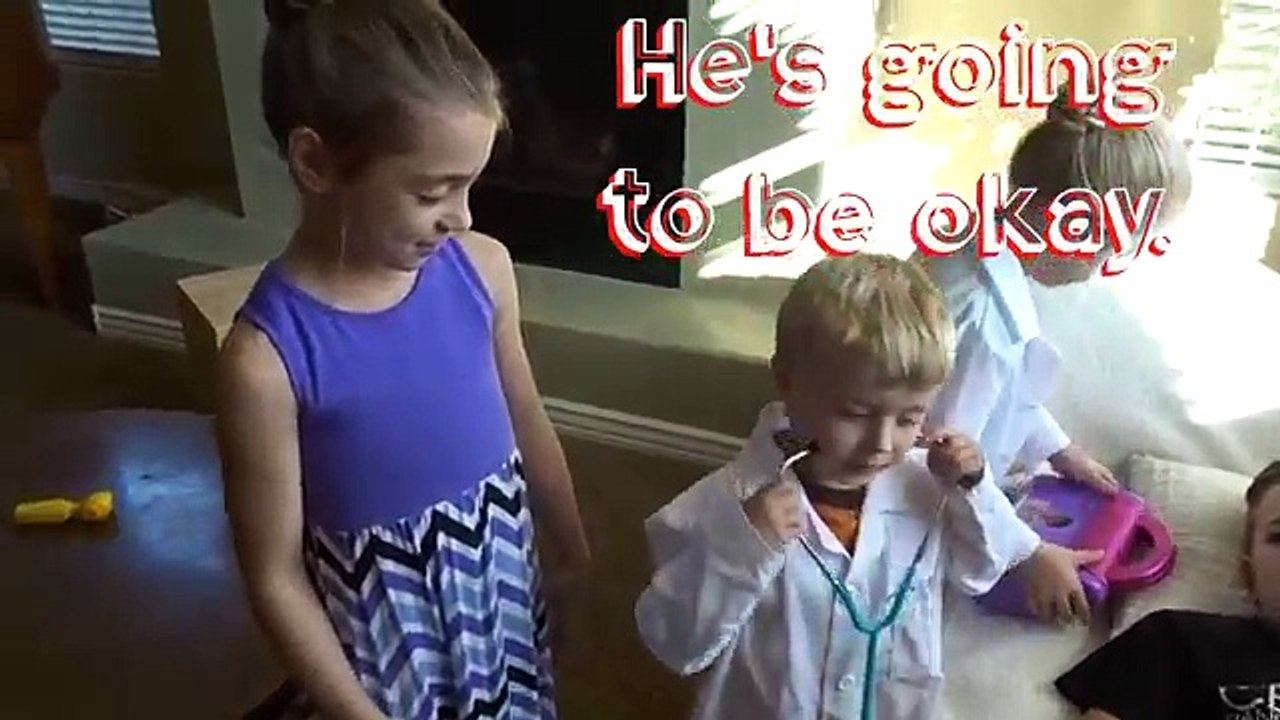 PLAYING DOCTOR GOES WRONG! LITTLE BROTHER and SISTER REVENGE TRY NOT TO LAUGH CHALLENGE - Vídeo Dailymotion
