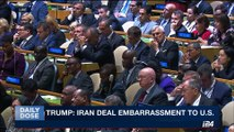 DAILY DOSE | Netanyahu attacks Iran in UN speech | Wednesday, September 20th 2017