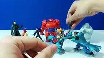 Armure gros aller aller héros miel citron jouets disney 6 prototype Baymax hiro hamada figurine Tomago