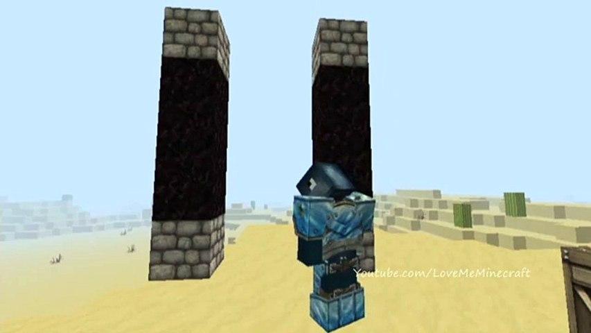 Hit The Target Attacks Stampylonghead And Iballisticsquid In Stampys Lovely World - Minecraft