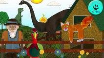 Old MacDonald had a Farm EIEIO - Dinosaur Song - Old MacDonald had a Farm Nursery Rhyme