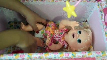 Baby Alive Minha Boneca comendo Papinha no Almoço