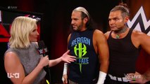 Renee Young Interviews The Hardy Boyz