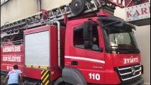 Emniyet Müdürlüğü Binasında Yangın
