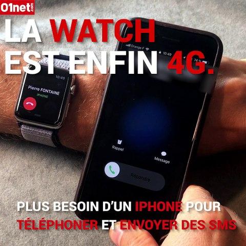 Les nouveautés de l' Apple Watch Series 3