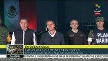Presidente de México: Es una dolorosa prueba. Sigamos unidos