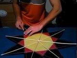 Colagem do pipa estrela - Pipas diferentes - laça - combate.