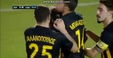 Penalty GOAL - AEK 1-0 Lamia 20.09.2017