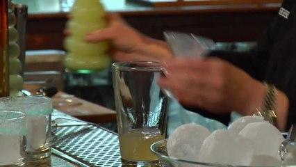 Black and Blue Cadillac Margarita - Kathy Casey's Liquid Kitchen - Small Screen