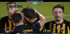 All Goals & highlights HD  AEK Athens FC 2 - 0Lamia 20-09-2017