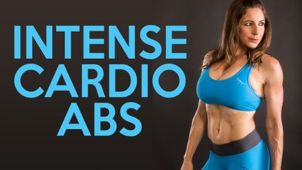 Intense Cardio Core Workout with Dani   Belly Fat, Abs, HIIT, At Home Fitness for Beginners