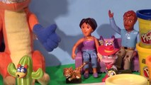 Play Doh Dora The Explorer, we make Swiper the Swiper out of Play Doh, The Swiper no Swiping Fox