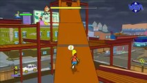 VGA Les simpsons le jeu gameplay ps3 x box 360 pc wii psp ds 2007 HD
