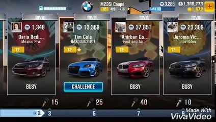 CSR2 - V.1.4.7 Best tune for BMW M235i Coupe (+715 Evo Points)