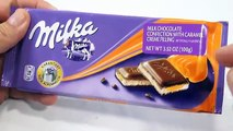 Milka Milk Chocolate Caramel Creme Candy Bar