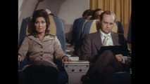 The Bob Newhart Show (1972) - Clip:  Bob On A Plane Featuring Penny Marshall