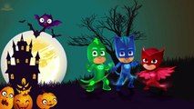 Drawing PJ Masks Catboy, Owlette, Gekko Transform Into Halloween Vampire Dracula & Mummies