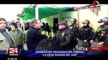 Megaoperativo en Pisco: desbaratan organización criminal 'La Gran Sangre del Sur'