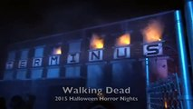 [new] The Walking Dead Maze with Night Vision - Universal Studios Halloween Horror Nights new
