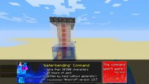 Minecraft - Water Bending in one command! | Summon Waves, Water Explosions and more!
