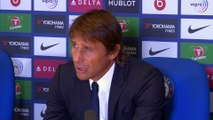 Antonio Conte says Chelsea's flurry of red cards are 'a strange situation'