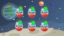 СВИНКА ПЕППА В КОСМОСЕ! Мультик для детей. Космонавты - Инопланетяне. Ракета - НЛО. Киндер сюрприз.