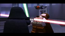Lego Star Wars All Lightsaber battles