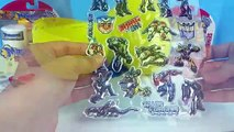 Play Doh Transformers AUTOBOT Giant Optimus Prime Surprise Egg Transformers Giant Optimus Prime Egg