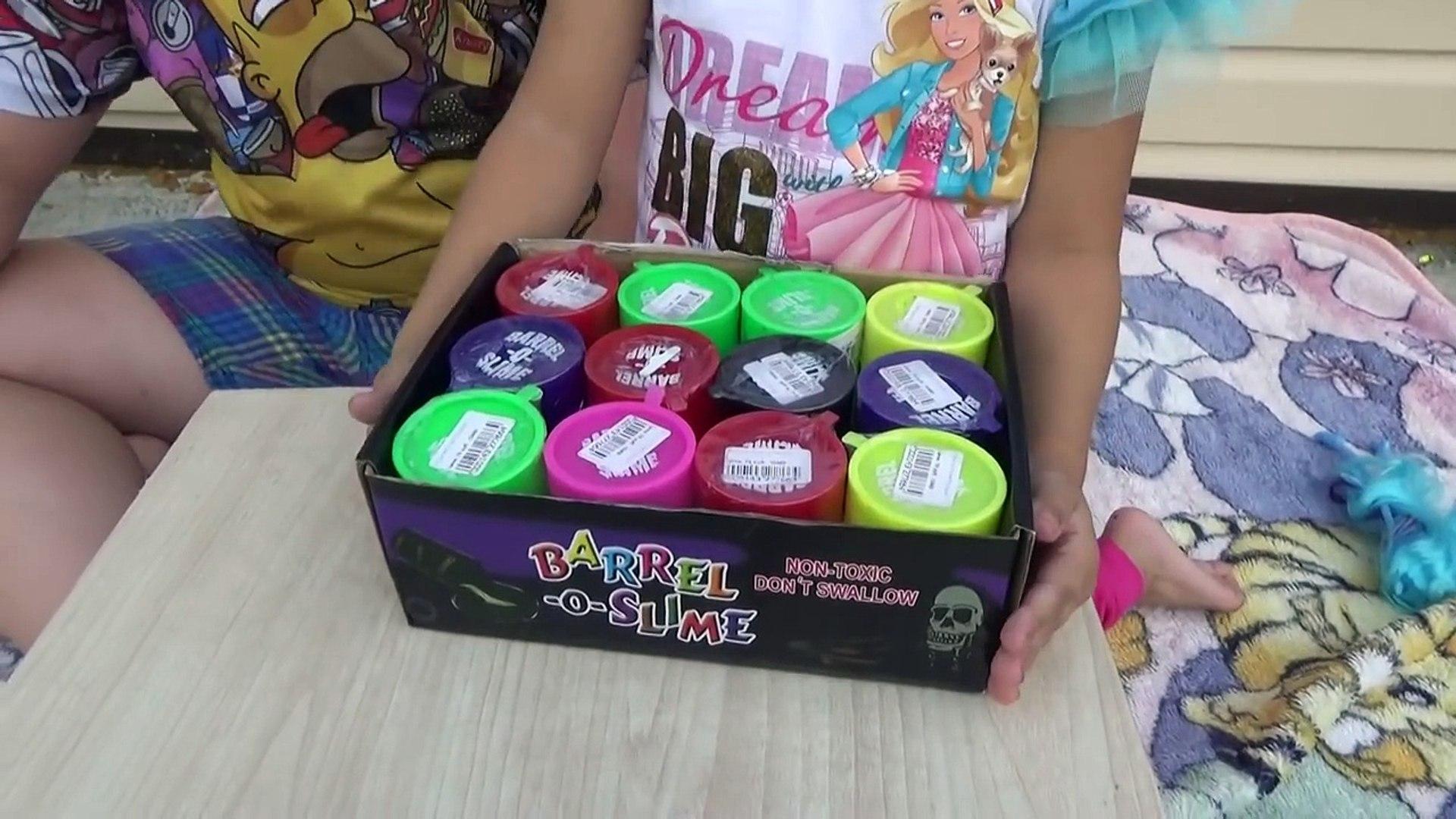 Алиса разбила БОЛЬШУЮ тарелку СЛИЗИ Slime challenge for kids entertainment for children
