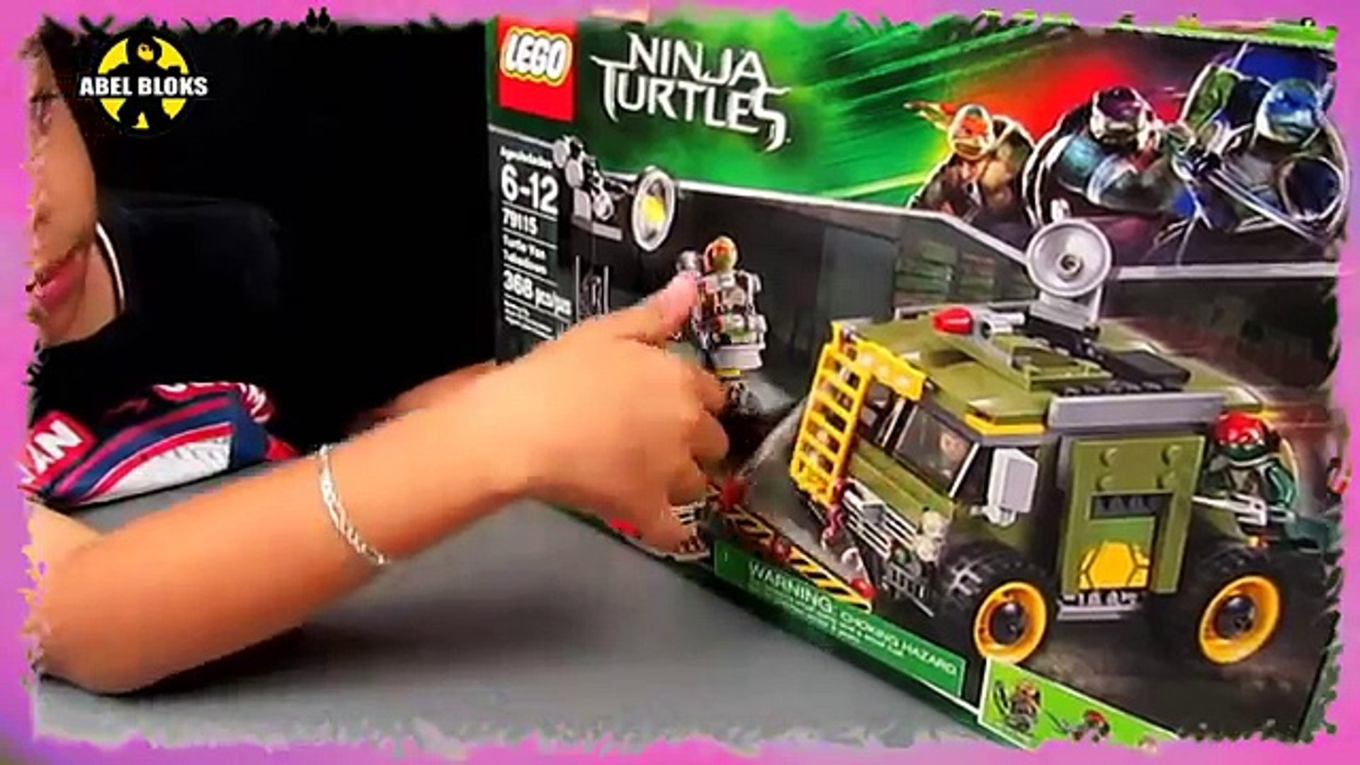 En Tortugalego Takedown 79115Turtle Van Lego EspañolCamioneta nwO0P8k