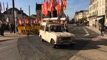 Le Mans : manifestation contre la Loi Travail