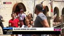 """Olivier Minne au bord des larmes ce matin en direct sur le plateau de """"Morandini Live"""" - Regardez"""
