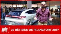 Salon de Francfort 2017 : le bêtisier d'Auto Moto