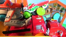 Pixar Cars Lightning McQueen Hydro Wheels with Mack Mater and Red from Radiator Springs