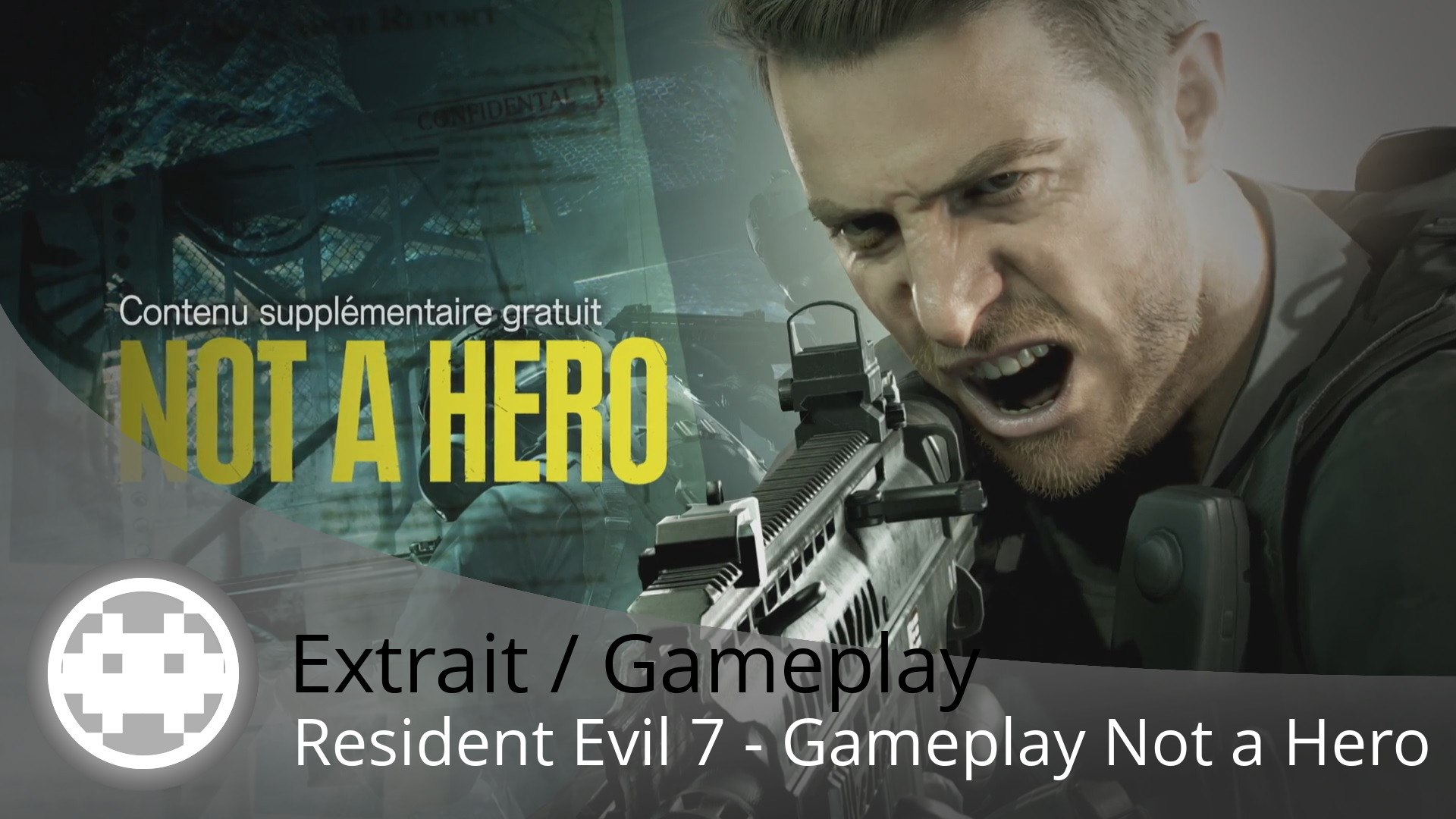 Extrait / Gameplay - Resident Evil 7: Not a Hero - Gameplay dans la mine avec Chris Redfield