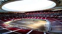 Dans le nouveau Wanda Metropolitano de l'Atlético Madrid