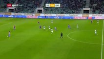 Sankt Gallen 2:0 Basel (Swiss Super League 20 September)