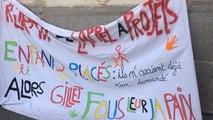 Manifestation de l'intersyndicale et du collectif de salariés de la protection de l'enfance