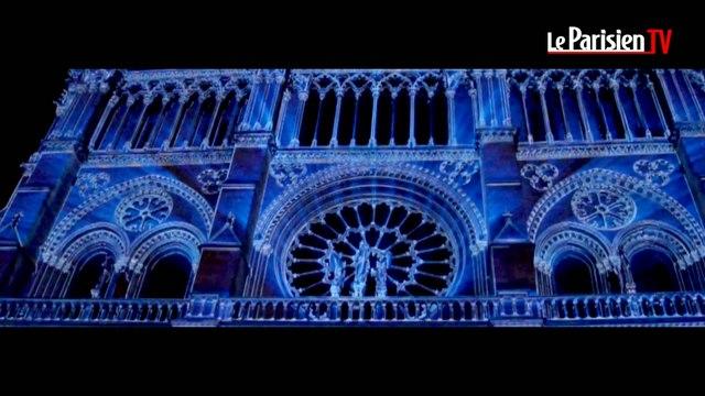 Notre-Dame de Paris :  le teaser du son et lumière en exclusivité