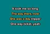Beatles - Day tripper (Karaoke)