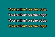 Aerosmith - Livin' on the edge (Karaoke)